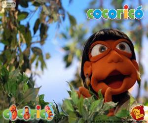 Układanka Cocoricó Oriba
