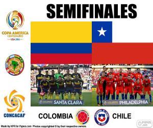 Układanka COL-CHI, Copa America 2016