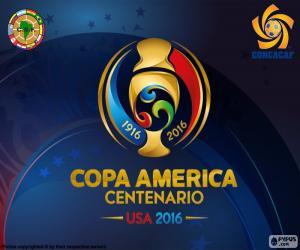 Układanka Copa América Centenario 2016 logo