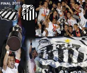Układanka Copa Libertadores 2011 mistrz Santos FC