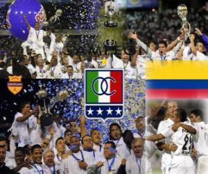 Układanka Corporación Deportiva Once Caldas Champion League Postobon 2010 (Kolumbia)