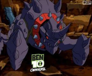 Układanka Crabdozer jest Nemetrix cudzoziemców, Ben 10 Omniverse
