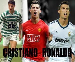 Układanka Cristiano Ronaldo