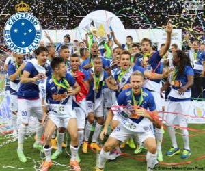 Układanka Cruzeiro mistrz 2014