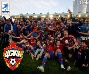 Układanka CSKA Moskwa, Champion Liga Premier 2013-2014, rosyjski football league