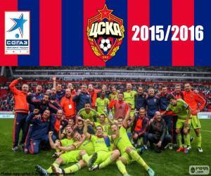 Układanka CSKA Moskwa, mistrz 2015-2016