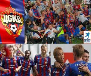 Układanka CSKA Moskwa, mistrz rosyjski Piłka nożna Priemjer-Liga 2012-2013