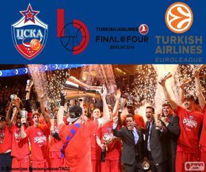 Układanka CSKA Moskwa, mistrzem Euroligi 2016