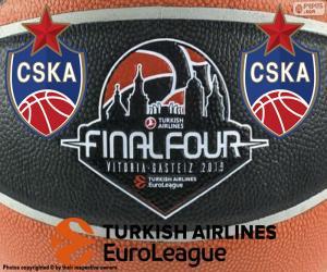 Układanka CSKA Moskwa, mistrzem Euroligi 2019