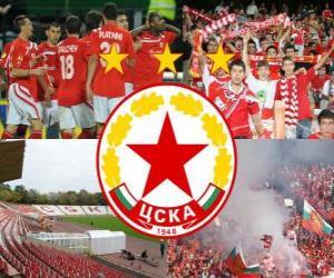 Układanka CSKA Sofia, Bułgarii w piłce nożnej