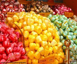 Układanka Cukierki i jego kolory