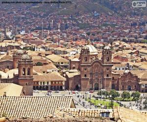 Układanka Cuzco, Peru