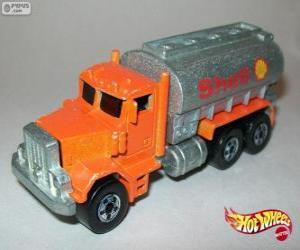 Układanka Cysterny - ciężarówka Cysterna, Hot Wheels