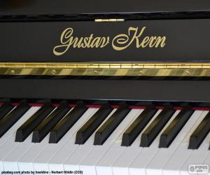 Układanka Czarnego fortepianu