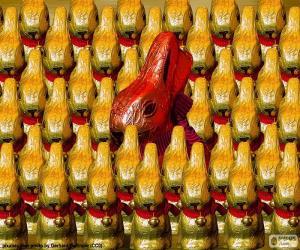 Układanka Czekoladowe królików