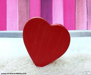 Układanka Czerwone serce