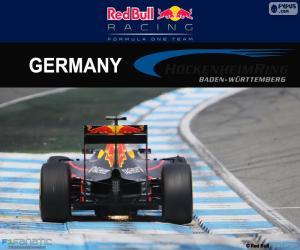 Układanka D. Ricciardo, GP Niemiec 2016