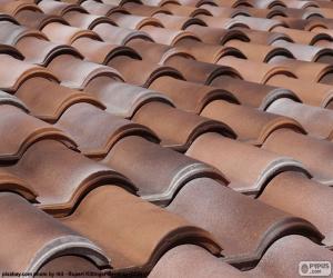 Układanka Dachówki ceramiczne
