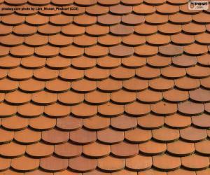 Układanka Dachu domu