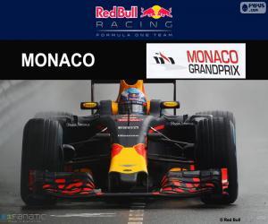Układanka Daniel Ricciardo, 2016 Grand Prix Monako