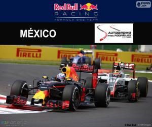 Układanka Daniel Ricciardo, 2016 Grand Prix Meksyku