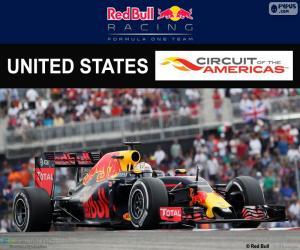 Układanka Daniel Ricciardo, GP Stanów Zjednoczonych 16