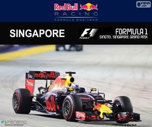 Układanka Daniel Ricciardo, Grand Prix Singapuru 2016