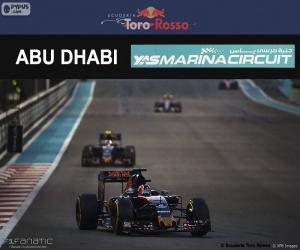 Układanka Daniił Kwiat, Grand Prix Abu Zabi 2016
