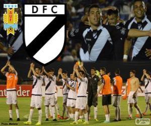 Układanka Danubio FC, mistrz pierwszej ligi piłki nożnej w Urugwaju w roku 2013-2014