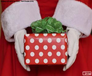 Układanka Dar Świętego Mikołaja