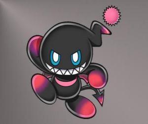 Układanka Dark Chao jest zła maskotka gry Sonic