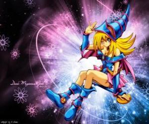 Układanka Dark girl mag jest w innej formie, że Pegasus wykorzystuje przeciwko Kaiba