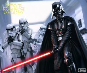 Układanka Darth Vader, Star Wars