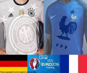 Układanka DE-FR, półfinale Euro 2016
