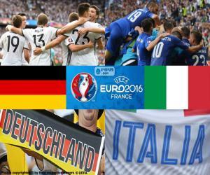 Układanka DE-IT, ćwierćfinał Euro 2016