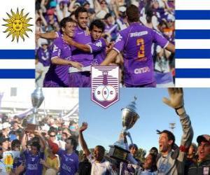 Układanka Defensor Sporting Club mistrz Torneo Apertura 2010 (Urugwaj)