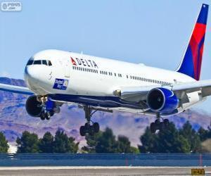 Układanka Delta Air Lines, linie lotnicze w Stanach Zjednoczonych