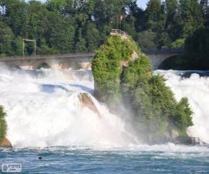 Układanka Der Rheinfall, Szwajcaria