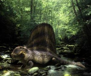 Układanka Dimetrodon