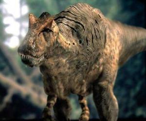 Układanka Dinozaur, zagrażające