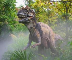 Układanka Dinozaur