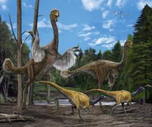 Układanka Dinozaury