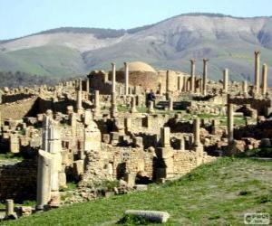 Układanka Djémila, Algieria