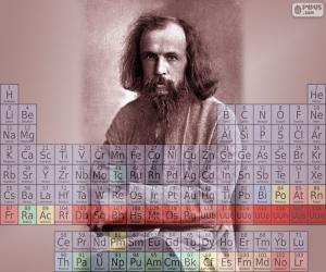 Układanka Dmitri Mendelejewa