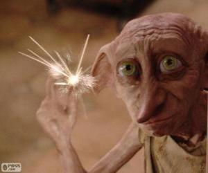 Układanka Dobby, dom elf z Harry Potter