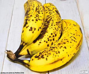 Układanka Dojrzałe banany