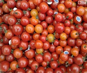Układanka Dojrzałe pomidory