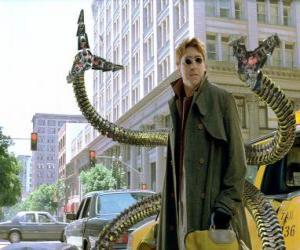 Układanka Doktor Octopus jest bardzo inteligentny szalonego naukowca, jednego z największych wrogów Spider-Man