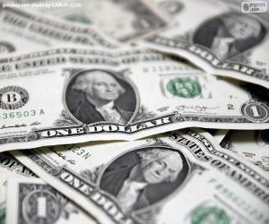 Układanka Dolar amerykański