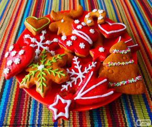 Układanka Domowe ciasteczka świąteczne